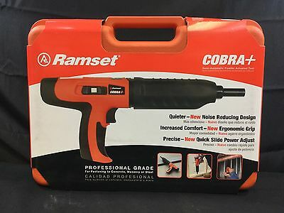 Ramset Cobra+ .27 Caliber Semi-Automatic Powder Actuated Tool