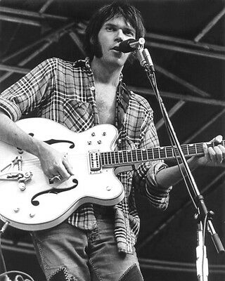 Canadian Singer NEIL YOUNG Glossy 8x10 Photo Music Print Poster Portrait