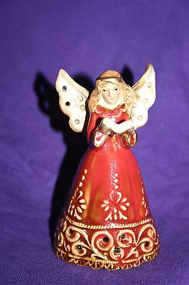 Ceramic Angel Bell (5 inches tall)