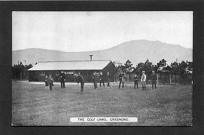 Golf - Golfers & Club House Greenore Co Lough (by L&NW Railways) c1910