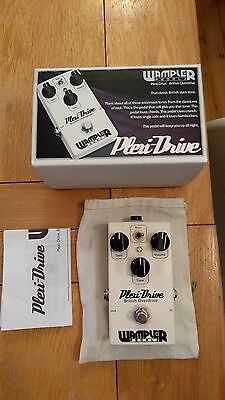 Wampler Plexi Drive Heritage Series Overdrive Distortion Guitar Effects Pedal