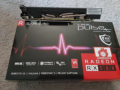 Sapphire Radeon PULSE RX 580 8GB GDDR5    ETHEREUM OR GAMING