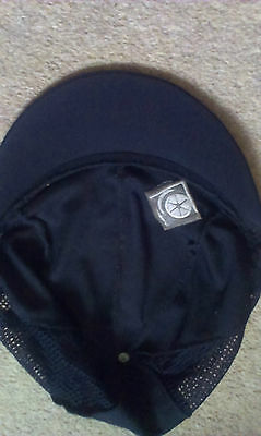 Black Riding Hat Cover- Small- Charles Owen