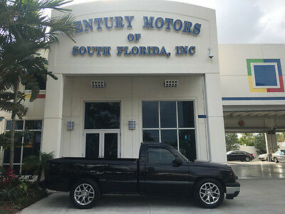 2006 Chevrolet C/K Pickup 1500  1 OWNER LOW MILES NIADA CERTIFIED WARRANTY BLACK LONG BED