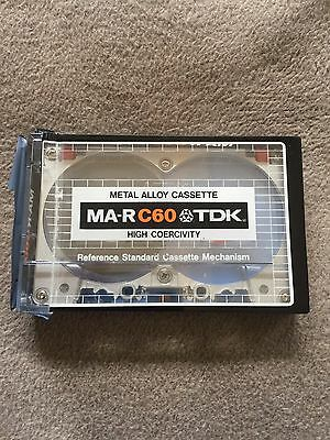 RARE 1979 TDK MA-R 60 Reference Metal Tape C-60 Japanese Market NEU NEW SEALED