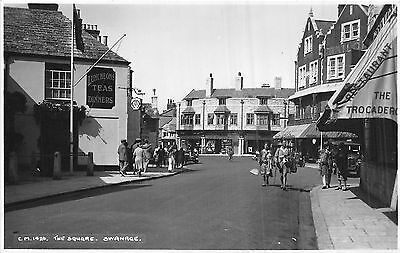 POSTCARD   DORSET    SWANAGE    The  Square     RP