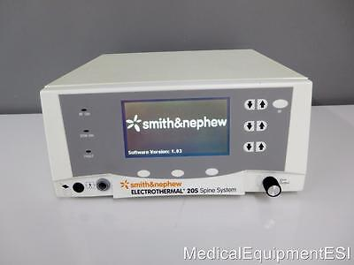 Smith and Nephew Electrothermal 20s Spine System Console 7209975 S. Version 1.03