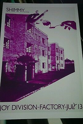 Joy Division rare promotional poster A3 super quality heavy canvas paper