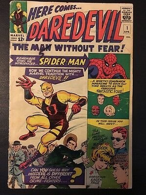 Daredevil #1 1st Series Marvel Comics 1964 1st Appearance Key Issue 4.0