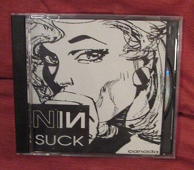 NIN Nine Inch Nails CD wCase SUCK rare Promotional Not Fot Resale Halo Canada