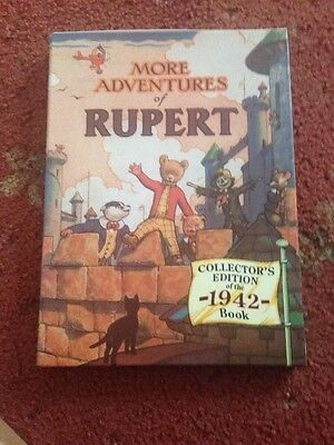 RUPERT BEAR FACSIMILIE OF 1942 ANNUAL / BOOK Collectors Edition NEW Rare