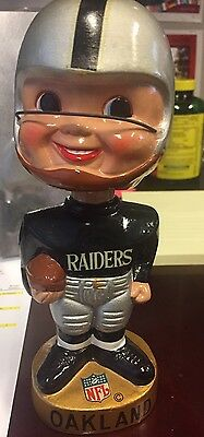Old Oakland Raiders Nfl Nodder Bobble Head