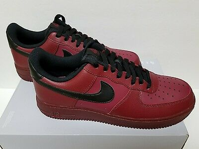 NIKE AIR FORCE 1 Low Team Red Black Size 10.5 315122-614 -  79.99 ... 1b6efce81