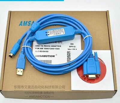USB-1761-CBL-PM02 For AB 1000 1200 1500 PLC programming blue cable win7 XP