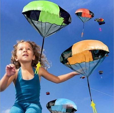 Kids Play Throwing Hand Outdoor Parachute Mini Children's Educational Toys Toy Q