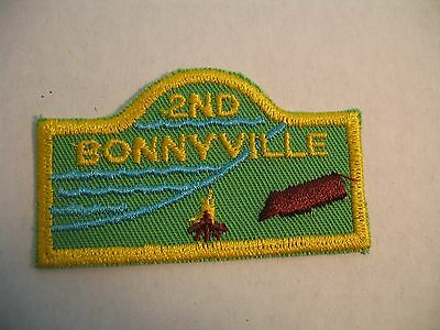 Boy Scouts Canada 2Nd Bonnyville Cubs Scouting Embroidered Patch Badge