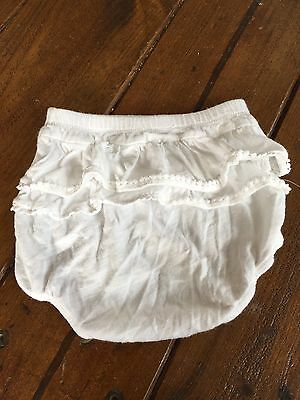 Country Road Baby Girls Grill Nappy Cover Bloomers Size 12-18 Months