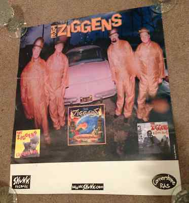 The Ziggens Poster OG Pomona Lisa Ignore Amos Chicken Out! Skunk Records SUBLIME