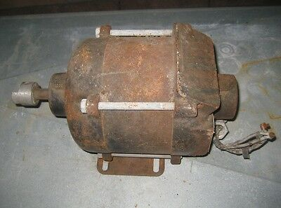 Very Used General Electric GE Explosion Proof Motor 1/2 Hp 115V 1-Phase 1725 RPM