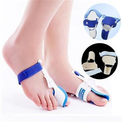 2x Toe Straightener & Bunion Hallux Valgus Corrector Night Splint Pain Relief J