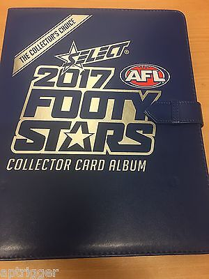 2017 Select Footy Stars  ALBUM & 9 Pocket Pages