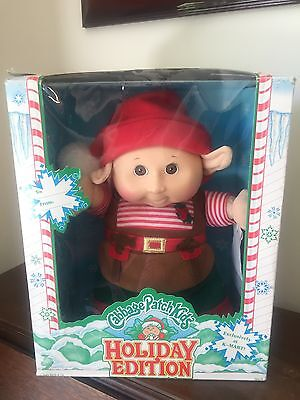 """Vintage Cabbage Patch Kids Holiday Edition 11"""" Elf Doll NEW IN BOX"""