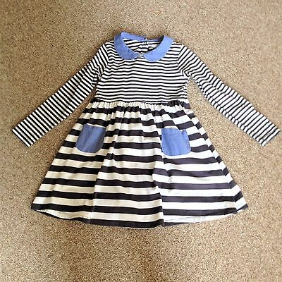 Girl's M & S dress Age 6/7 With  Matching Slate grey leggings