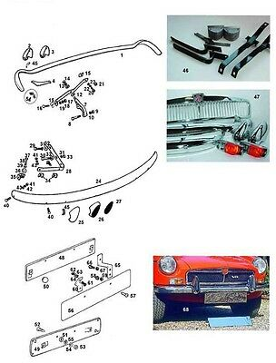 Mgb Chrome Bumper Conversion Supply And Fitting Service Norfolk