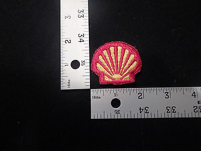 patch,iron on,fun,funny,old,rare,vintage,antique,cool,shell,gas station,gas