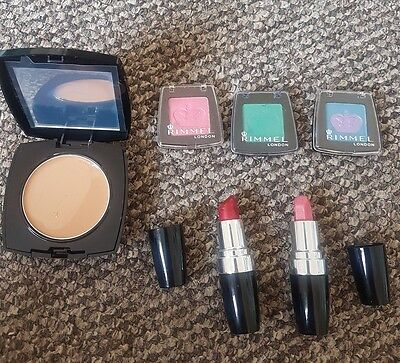 Job Lot Makeup Rimmel Avon Lip stick Eye Shadow