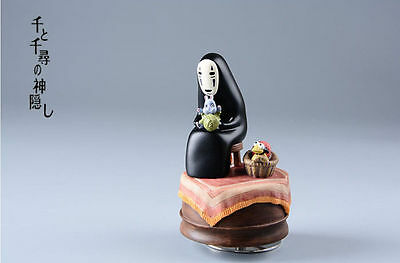 Spirited Away No Face Kaonashi Boh Yuba Bird Knitting S Studio Ghibli Music Box