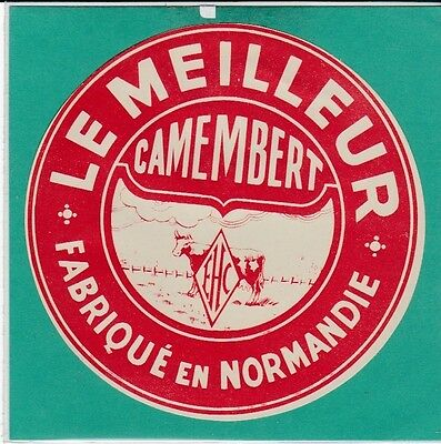 I31 Fromage Camembert    Ehc  Moulineaux Seine Maritime ?
