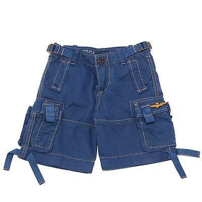 0294T bermuda bimbo blu AERONAUTICA MILITARE WITHOUT LABEL short kid
