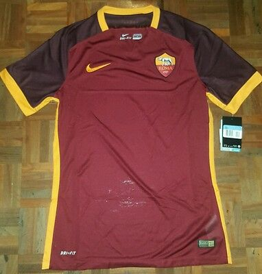 Roma player issue authentic 15/16 shirt match worn TOTTI Italy S XL XXL calcio