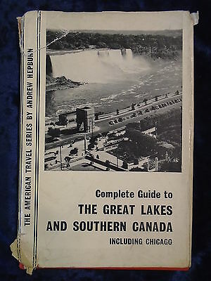 COMPLETE GUIDE TO THE GREAT LAKES by ANDREW HEPBURN-N VANE 1962-H/B WITH JACKET