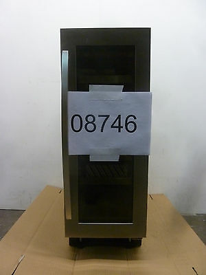 Caple Wi3121 Stainless steel under-counter single zone wine cabinet - 08746