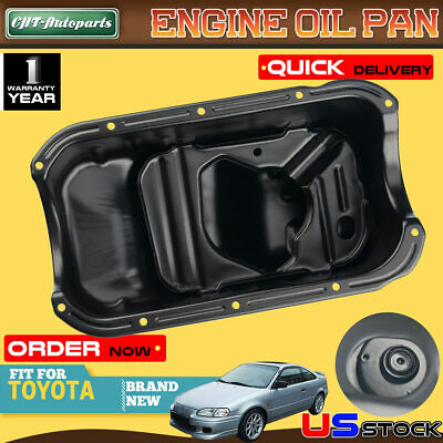 Engine Oil Pan for Toyota Paseo 1994 1995-1998 Tercel 1995-1998 I4 1.5L 264-304