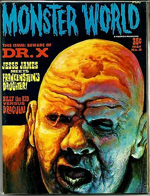 Warren Magazine Famous Monsters - Monster World #8  Dr X Ex Condition