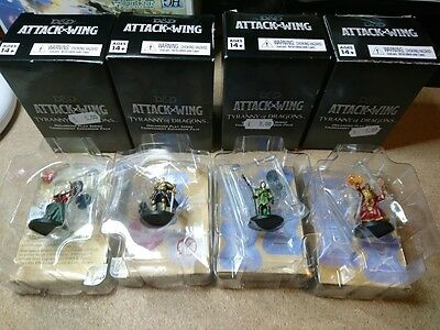 Dungeons and Dragons Attack Wing - Tyranny of Dragons (4 figure boosters)