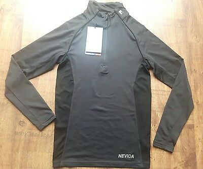 Nevica Thermal Zip Top Mens Size L (charcoal)