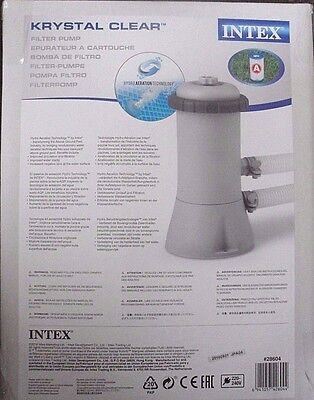 Krystal Clear Intex Filter Pump 28604