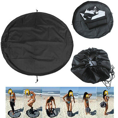 Surfing Wetsuit Diving Beach Changing Mat Carry Bag Waterproof Nylon Pack Pouch