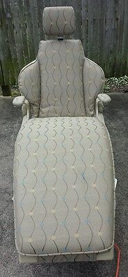 Tattoo or Barber or Lounge Chair Custom Cushioned Beautiful Condition