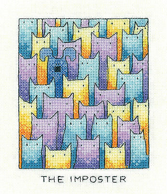 Heritage Crafts Simply Heritage Cross Stitch Kit - The Imposter