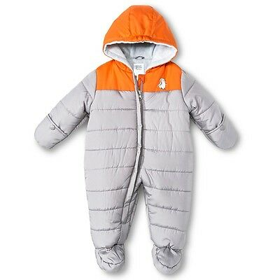 Just one you made by carters baby fleece hooded snowsuit