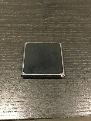 Apple iPod Nano 6th Generation 8GB Slate Grey Graphite MP3 MP4 Music Player