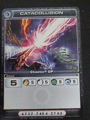 CHAOTIC OP Organised Play card: OP1-12/20 CATACOLLISION  ATTACK