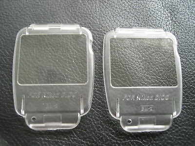 New 2 x LCD Covers for Nikon D100 BM-2 BM 2 BM2
