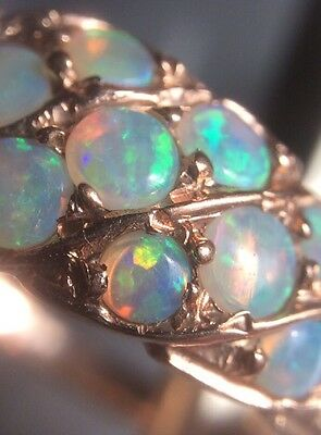 Beautiful Antique Victorian 9kt Opal Rose Gold Ring
