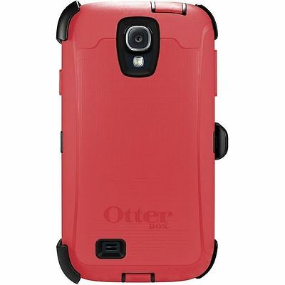 New Otterbox Defender Series case  Holster clip for Samsung Galaxy S4 Pink Black